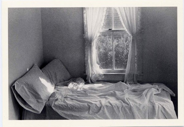 unmade bed Amagansett